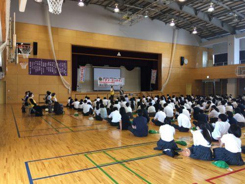 薬物乱用防止教室 東京都立鷺宮高校