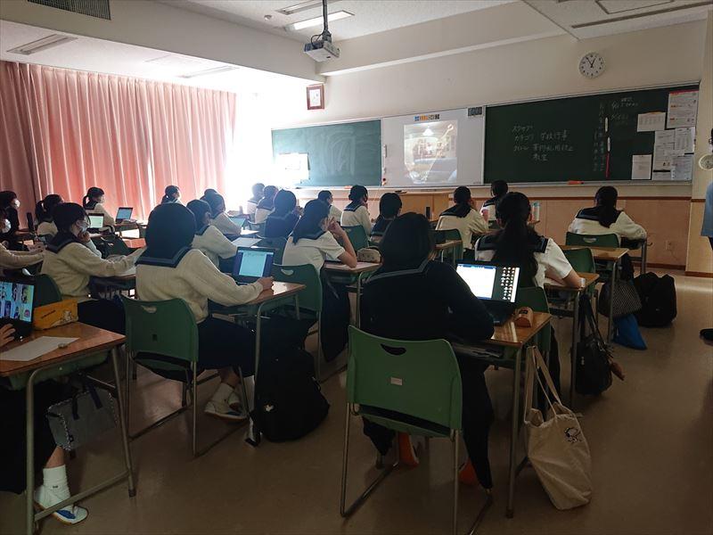 薬物乱用防止教室 大妻中野中学校